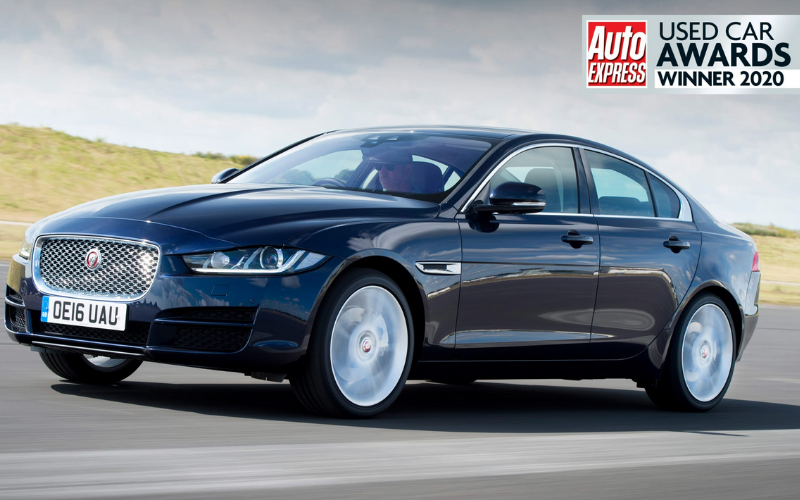 The Jaguar XE Is Named Best Compact Executive In Auto Express Used Car Awards